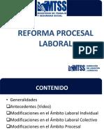 Reforma Prosesal Laboral  MTSS