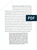 Memorandum of Understanding-Assessment of Civil Penalty