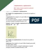 ANGULOS COMPLEMENTARIOS Y SUPLEMENTARIOS 2