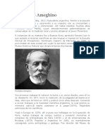 Biografía de Florentino Ameguino