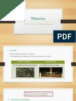1- Materia