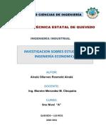 investigacion de ingenieria economica