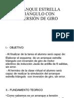 ARRANQUE ESTRELLA TRIÁNGULO CON INVERSIÓN DE GIRO