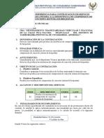 TDR - ROTURA DE BRIQUETAS