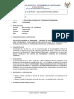 TDR - SERVICIO MANTENIMIENTO