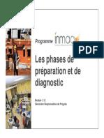 Les Phases de Préparation Et de Diagnostic