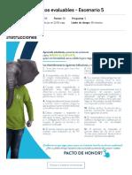 Actividad de puntos evaluables - Escenario 5l