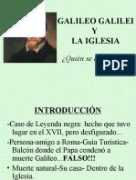 Galileo Powerpoint