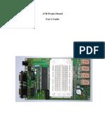 AVR Project Board User Guide