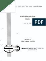 Flight Conrol Division Mission Operations Report Apollo 13