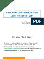 Bajo Nivel de Presencia (Low Level Presence 19