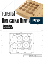 Fliper DJ - Dimensional Drawing