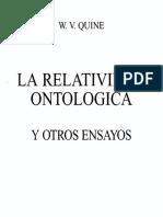 Epistemología Naturalizada