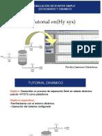 evapor simple simulacion dinamica