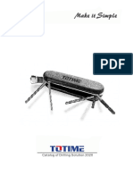 TOTIME Drilling General Catalog 2020