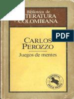 Perozzo, Carlos 1981 - ''Juegos de Mentes''