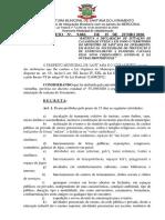 Decreto9083 Ratifica a Declaração de Situação de Calamidade Pública -Covid19