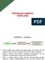 Produção de Cimento PDF
