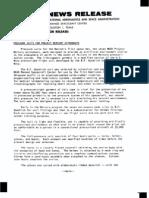 Pressure Suites for Project Mercury Astronauts