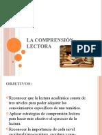 LA COMPRENSIÓN LECTORA-1
