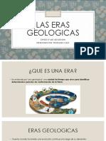 LAS ERAS GEOLOGICAS