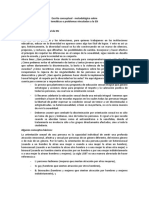Escrito conceptual y metodol+¦gico sobre Diversidad sexual