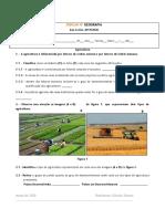 Ficha de trabalho - Agricultura I