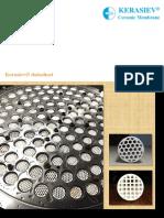 Kerasiev  Ceramic Membrane Techinical Brochure 2018[0.5MB]