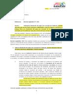 Carta Anapef - Devolución de Matrícula, pensiones y cuota de ingreso