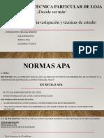Diapositivas Normas APA