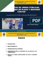 REINICIO DE OBRAS PUBLICAS