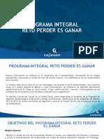 PROGRAMA INTEGRAL DE SALUD RETO PERDER ES GANAR 2020