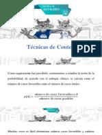 Doc_Técnicas de Conteo,Diagrama de árbol, Factorial
