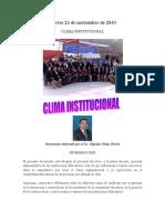 CLIMA INSTITUCIONAL 23NOV2010