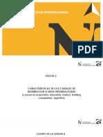 2 SESION CARACTERISTICAS CANALES DE DISTRIBUCION A NIVEL INTERNACIONAL PDF