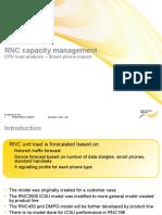 Capacity_RNC Capacity Management - Smart Phone Impact