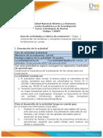Guía de actividades y Rúbrica de evaluación - Etapa 1- Comprender la importancia de la planeacion de las ventas para una organización