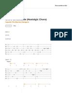 Choro da Saudade (Nostalgic Choro) - Agustin Pio Barrios Mangore - CIFRA CLUB.pdf