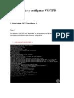 Cómo instalar y configurar VSFTPD Ubuntu 18