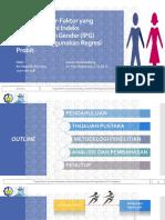 Analisis Faktor-Faktor Yang Mempengaruhi IPG