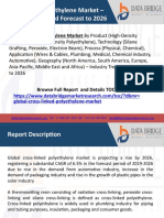 15.2Cross-Linked Polyethylene Market