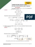 SOLUCION-HT-S10-COMBINACION LINEAL, BASES Y DIMENSION