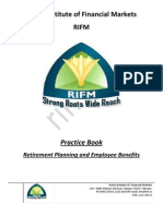CFP Retirerment Planning Practice Book Sample