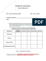 Práctica Calificada N°2 - Gestión del Conocimiento