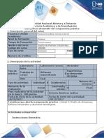 Guía para el desarrollo del componente práctico - Laboratorio Simulado Diseñar una Planta Industrial usando un software de Diseño 2D o 3D