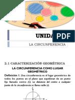UNIDAD II CIRCUNFERENCIA