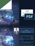 Unitedworld School of Business - Director & Deans