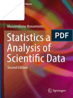 Bonamente 2017 Statistics and analysis of scientific data