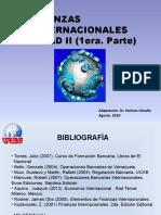 Finanzas Internacionales Unidad II 1era. parte