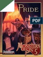 Monsters of Sin 5 - Pride